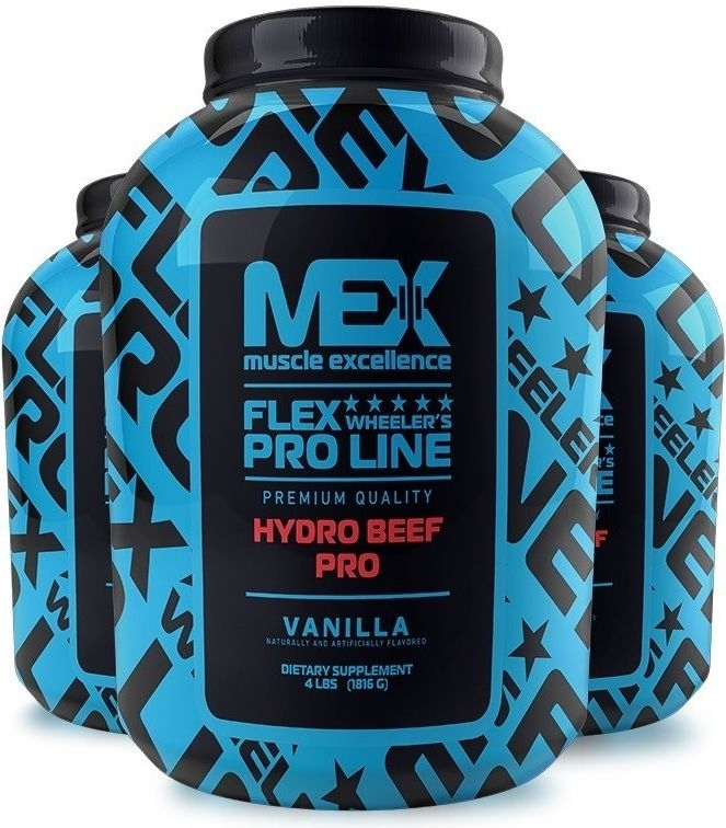 MEX 100% Beef Hydro Protein Pro