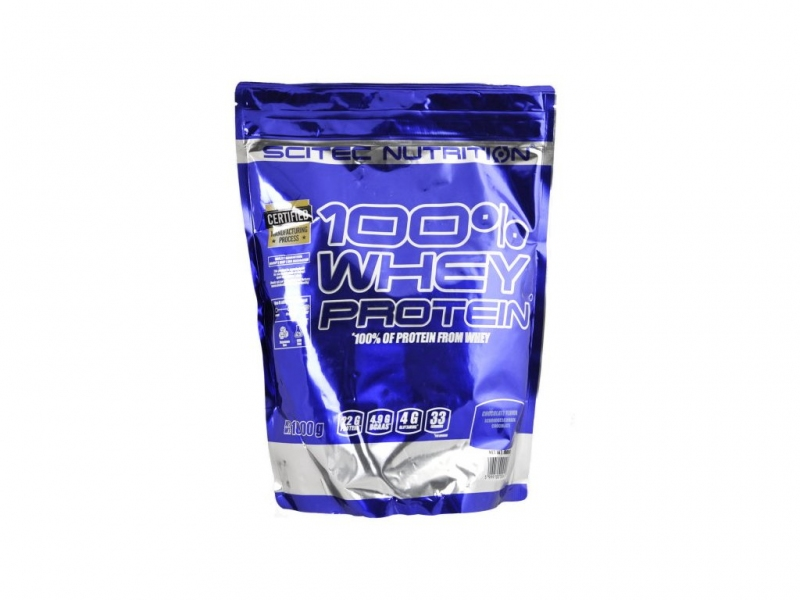 Scitec Nutrition 100% Whey Protein 1000 g