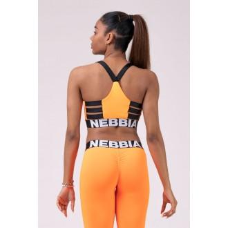 Nebbia športový mini top 515 - Oranžová