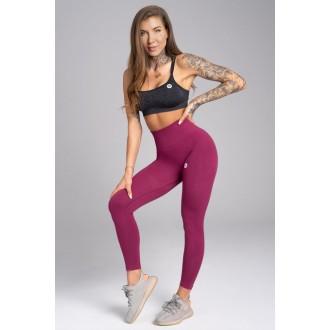 Gym Glamour Legíny Bezšvíkové Jelly Berry