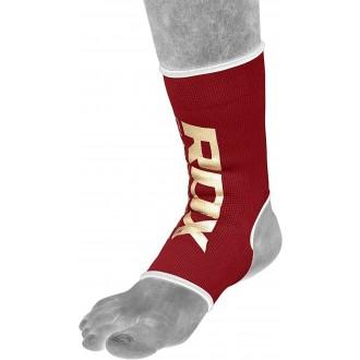 RDX Anklet Elastická bandáž na kotník - Červené