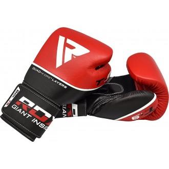 RDX Kožené Boxerské Rukavice T9 - Červené