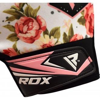 RDX Dámske Fitness Rukavice F23 - Bíle