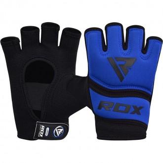 RDX Gelové bandáže rúk X6 - Modré