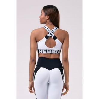 Nebbia sportovní podprsenka 535 - Bíla