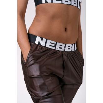 Nebbia Dámské Kalhoty Sports Drop Crotch 529 - Hnědé