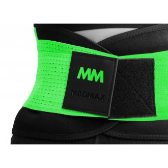 MadMax opasek Slimming and support belt - Zelený