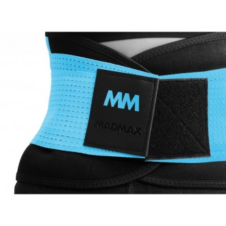 MadMax opasek Slimming and support belt - Tyrkysový