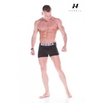 Nebbia Aesthetic Warrior Pánské boxerky 101 - Černé