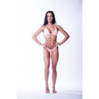 NEBBIA Dámsky Bikini Top Triangle 631 vrchní díl - Lososové