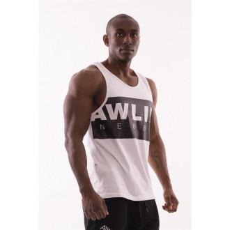"""NEBBIA AW 90""""s Muscle tílko 723 - Bíle"""