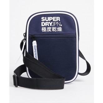 Superdry pánská náprsní taška Sports Pouch - Tmavěmodrá
