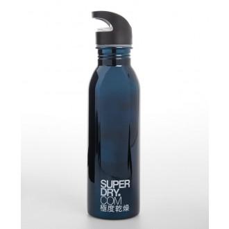 Superdry Sportovní láhev Super Steel - Tmavěmodrá
