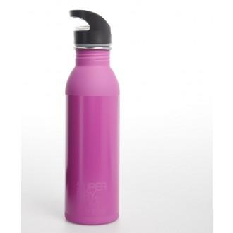 Superdry Sportovní láhev Super Steel Bottle - Růžová