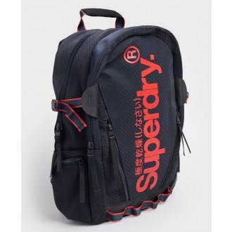 Superdry pánský batoh Combray - Tmavěmodrá
