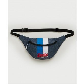 Superdry pánská ledvinka Vintage Logo - Modrá