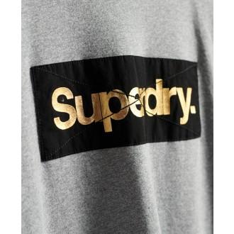Superdry dámské tričko Patina - Šedá