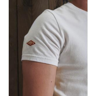 Superdry tričko Core Logo Woodstock - Bílé