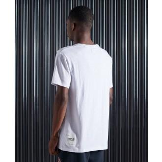 Superdry tričko Surplus SDRY - Bílé