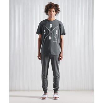 Superdry tričko Surplus SDRY - Šedé