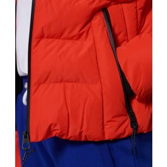 Superdry dámská bunda Spirit Sports Puffer - Červená
