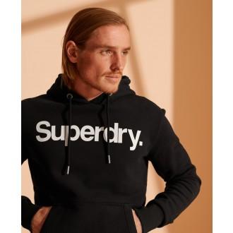 Superdry pánská mikina Core Logo - Černá