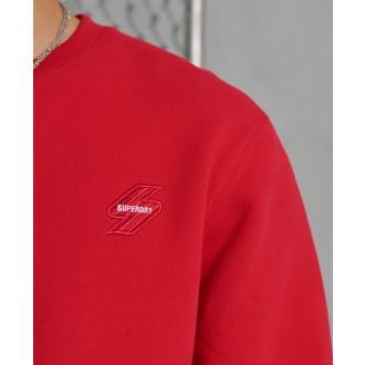 Superdry pánská mikina Sportstyle Crew - Červená
