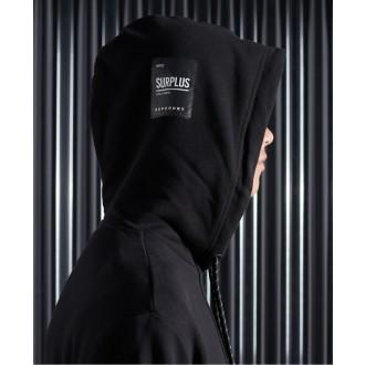 Superdry pánská mikina Surplus Graphic - Černá