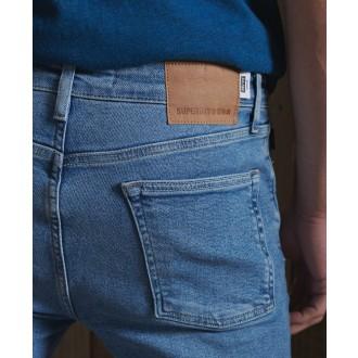 Superdry pánské riflové kalhoty Skinny Jeans - Světlemodrá