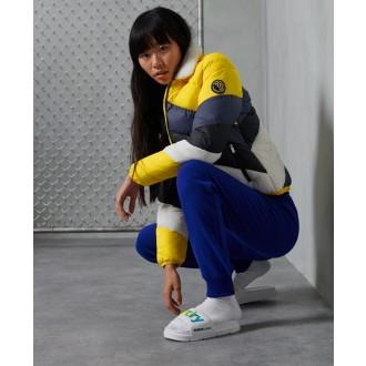 Superdry dámská bunda Splice - Žlutá