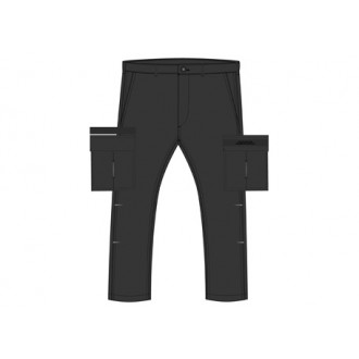 Superdry pánské kapsáčové kalhoty Field Cargo - BLACK