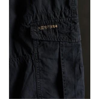 Superdry pánské kapsáčové kalhoty Core Parachute - DARK GREY