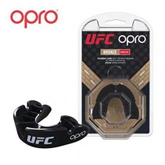 Opro UFC Bronze Chránič zubů - Černý