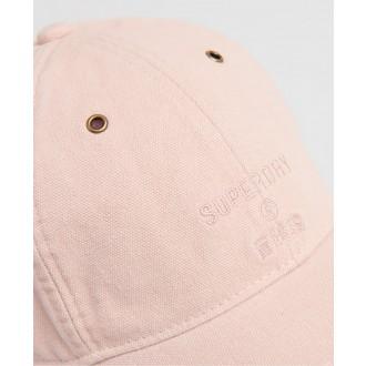 Superdry dámská kšiltovka Eyelet - Růžová
