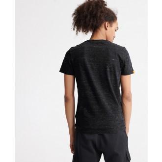Superdry pánské triko Orange Label Vintage Embroidered - Černá
