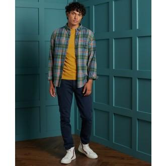 Superdry pánské triko Orange Label Embroidery - Žlutá
