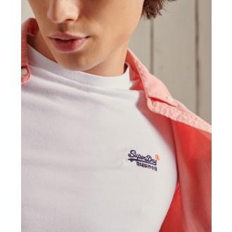 Superdry pánské triko Organic Cotton Vintage Embroidered - Bílá