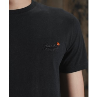 Superdry pánské triko Organic Cotton Vintage Embroidered - Černá