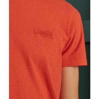 Superdry pánske tričko Orange Label Vintage Embroidered - Oranžová