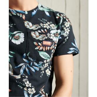 Superdry pánské triko Limited Edition Pocket - Černá