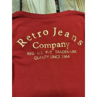 Retrojeans dámské triko s dlouhými rukávy LEILANI LONG - Bordová
