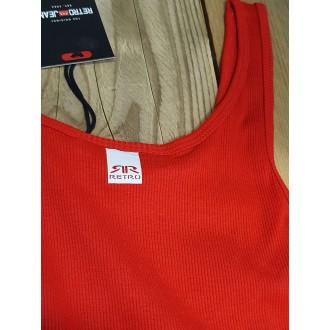 Retrojeans dámské šaty SABINA - Červená