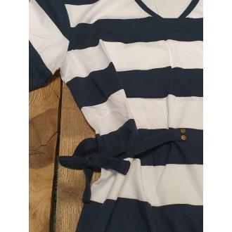 Retrojeans dámské šaty ETTAB - Modrá