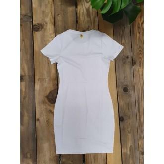 Retrojeans dámské šaty JANINA - Bílá