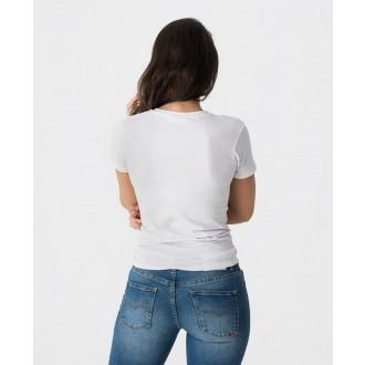 Retrojeans dámské triko LOUISE - Bílá