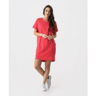 Retrojeans dámské šaty LORI D - Červená