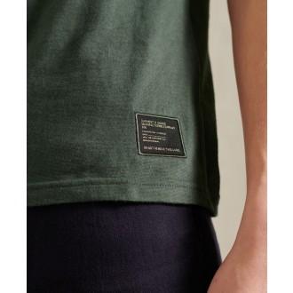 Superdry pánské tričko Military Graphic Lightweight - Tmavě šedá