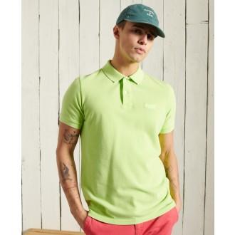 Superdry pánské triko Vintage Destroyed Polo - Zelená