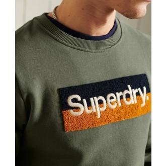 Superdry pánska mikina Core Logo Workwear - Zelená