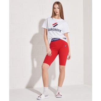 Superdry dámské triko Sportstyle Classi - Bílá